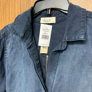 Bella Dahl Tops - $180 Bella Dahl Zipper Split Back Button Up Shirt